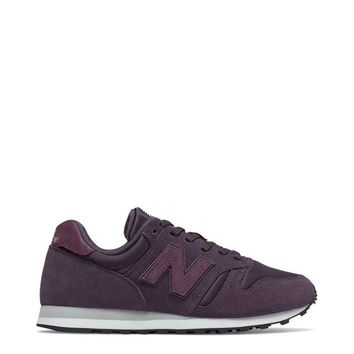 New Balance Violet Round Toe Suede Sneakers