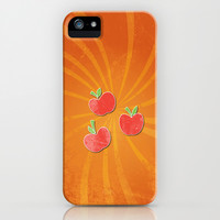 my grunge little pony.. apple jack iPhone & iPod Case by studiomarshallarts