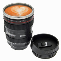 Unique Cool Stainless Steel Camera Lens Coffee Mug