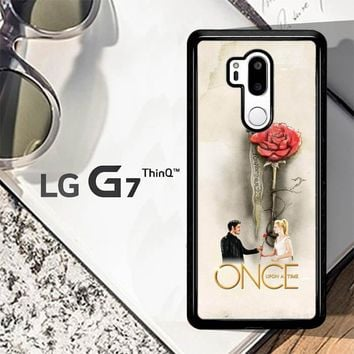 Once Upon A Time Rose X3423 LG G7 ThinQ Case