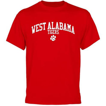 University of West Alabama Team Arch T-Shirt - Red