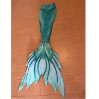 Customized Mermaid Tail for Swimming Swimsuit Tail and Fins Monofin Swimmable Mermaid Swimwear for Girls Kids Adults Costumes