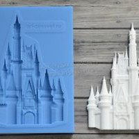 Best Quality Silicone Mold Fairytale Castle Crafts Decorating Cake ARTMD0123