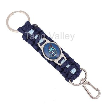 NEW Tennessee Titans Paracord Keychain Drop Shipping! KY0022