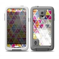 The Colorful Abstract Stacked Triangles Skin Samsung Galaxy S5 frē LifeProof Case