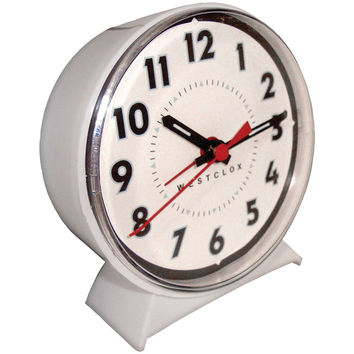 Westclox Keno Key-wound Loud-bell Mechanical Alarm Clock