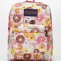 JanSport SuperBreak Donuts School Backpack - Womens Backpack - Multi - One