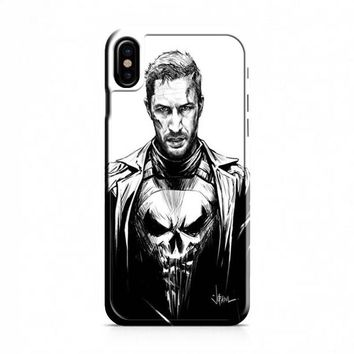 Tom Hardy as The Punisher iPhone X Case