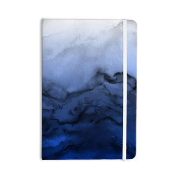"Ebi Emporium ""Winter Waves 3"" Blue Black Everything Notebook"
