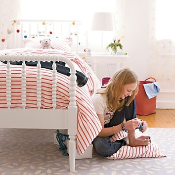 Jenny Lind Kids Bed (White) in Beds | The Land of Nod