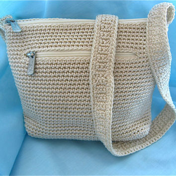 Vintage Crocheted Purse
