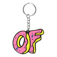 OF DONUT KEYCHAIN
