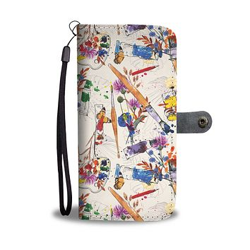 Wildflower Artist Wallet Phone Case