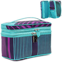 Trina Bandwidth Double Zip Train Case Ulta.com - Cosmetics, Fragrance, Salon and Beauty Gifts