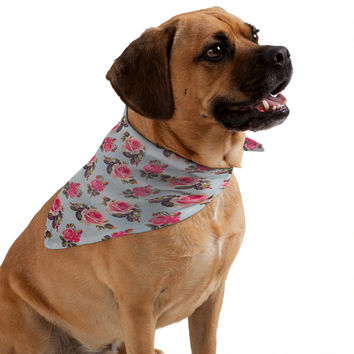 Allyson Johnson Pink Roses Pet Bandana