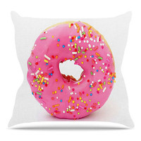 The Donut Pillow in White