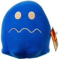 "Amazon.com: Pac-Man 6"" Plush Video Edition: Pellet Ghost Blue: Toys & Games"
