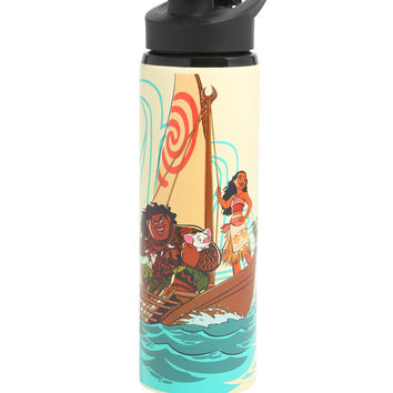 Disney Moana Stainless Steel Water Bottle