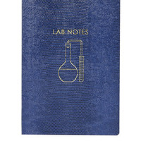 Lab Notes Notebook - Navy Blue