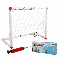 Sports Soccer Goals with Soccer Ball and Pump