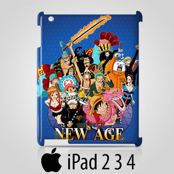 One Piece Manga Characters Case For iPad 2 3 4 / Air 2 / iPad Mini Air OP7
