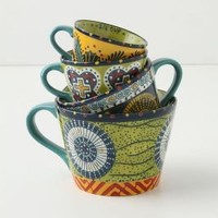 Austin's Flora Measuring Cups - Anthropologie.com