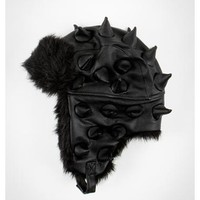 Spike Black Trapper Hat
