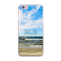 "Iris Lehnhardt ""Imagine"" Beach Sky iPhone Case"