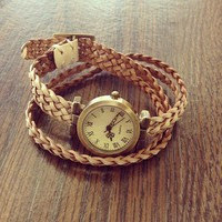 Braided Watch from Papers & Peonies