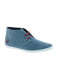 Fred Perry Roots Chambray Ankle Boots at asos.com