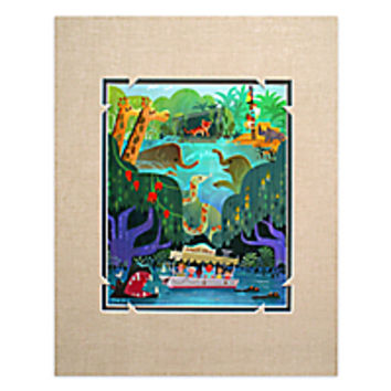 ''Jungle Cruise'' Deluxe Print by Joey Chou