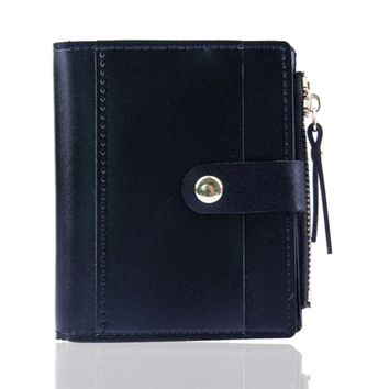 8accf88a1da1 Women Wallet Lovely Candy Color Small Coin Zipper Purse Card Package Casual  Soild Men Wallets With