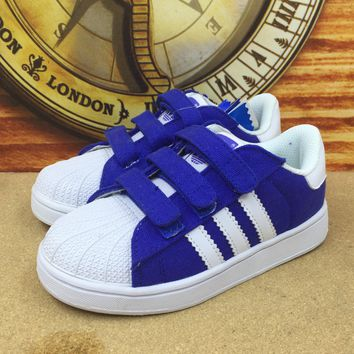 adidas girls boys children baby toddler kids child breathable sneakers sport shoe  number 2