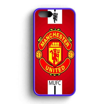 Manchester United Fc The Red Devil iPhone 5 Case iPhone 5s Case iPhone 5c Case