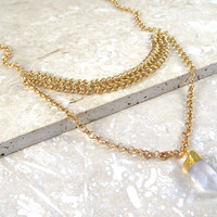 Linked Pendant Necklace