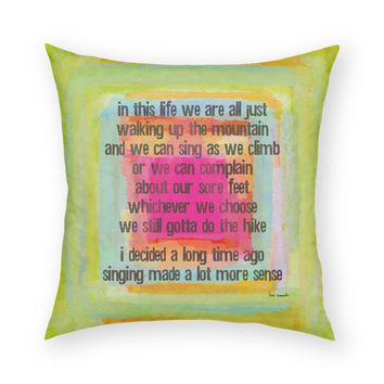 In This Life Throw Pillow