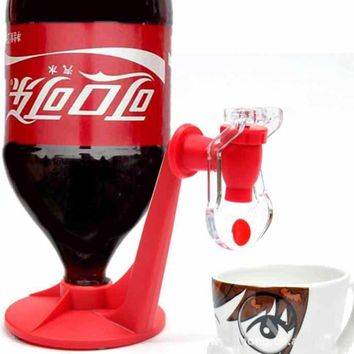 Mini Upside Down Drinking Fountains Cola Beverage Switch Drinkers Hand Pressure Water Dispenser Automatic Switchs Kitchen tools