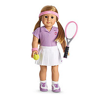 American Girl® Clothing: Tennis Outfit for Dolls + Charm