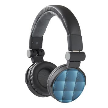 Swirl Blues Headphones