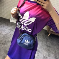 adidas Gradient Trefoil Tee Dress