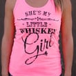She's My Whiskey Girl | Neon Pink Women's Tank Top
