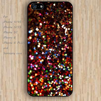 iPhone 5s 6 case Dream catcher colorful christmas glitter case phone case iphone case,ipod case,samsung galaxy case available plastic rubber case waterproof B429
