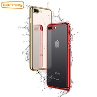 TORRAS Soft TPU Phone Case for iPhone 7 8 8 Plus Clear Fashion Phone Case Cover Slim Rubber Protective Case for iPhone 7 7 Plus