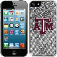Texas A&M Aggies iPhone 5/5s Bling Thinshield Snap-On Case – Silver