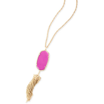 Kendra Scott: Rayne Necklace In Magenta