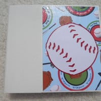 6x6 Tee Ball Scrapbook Album