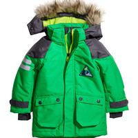 H&M - Padded Functional Jacket - Green - Kids
