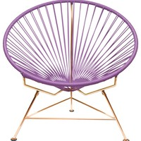 Innit Designs Innit Chair, Copper Base - Midcentury - Outdoor Lounge Chairs - by Sportique