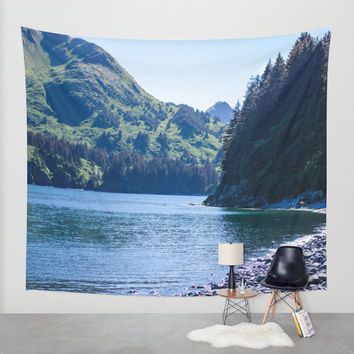Mountain Tapestry, Scenic Tapestry, Photo Tapestry, Large Wall Decor, Beach Tapestry, Large Wall Art, Wall Hanging, Beach Wall Art,