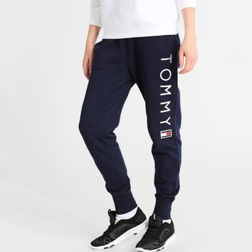 One-nice™ Tommy Hilfiger Drawstring Casual Pants Trousers Sweatpants